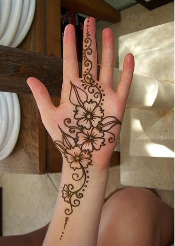 Simple And Easy Mehendi Designs Easy Henna Designs For Left Hand