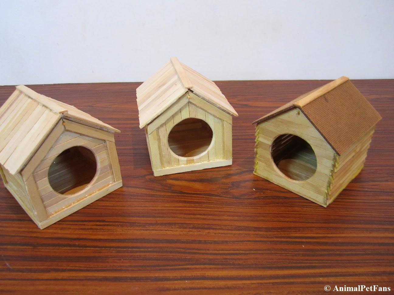 hamster house diy