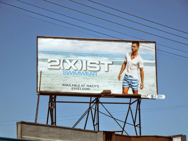 2Xist male swimwear billboard