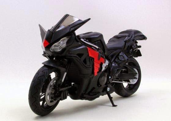 gambar SkullBoiler sepeda motor milik Kamen Rider Skull