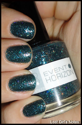 nerd lacquer event horizon swatches and review