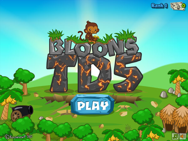 Bloons Tower Defense 5 screenshot 1