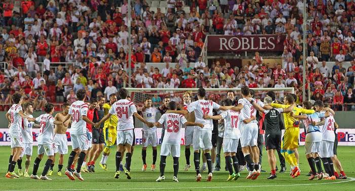 números de la temporada 13/14 del Sevilla FC