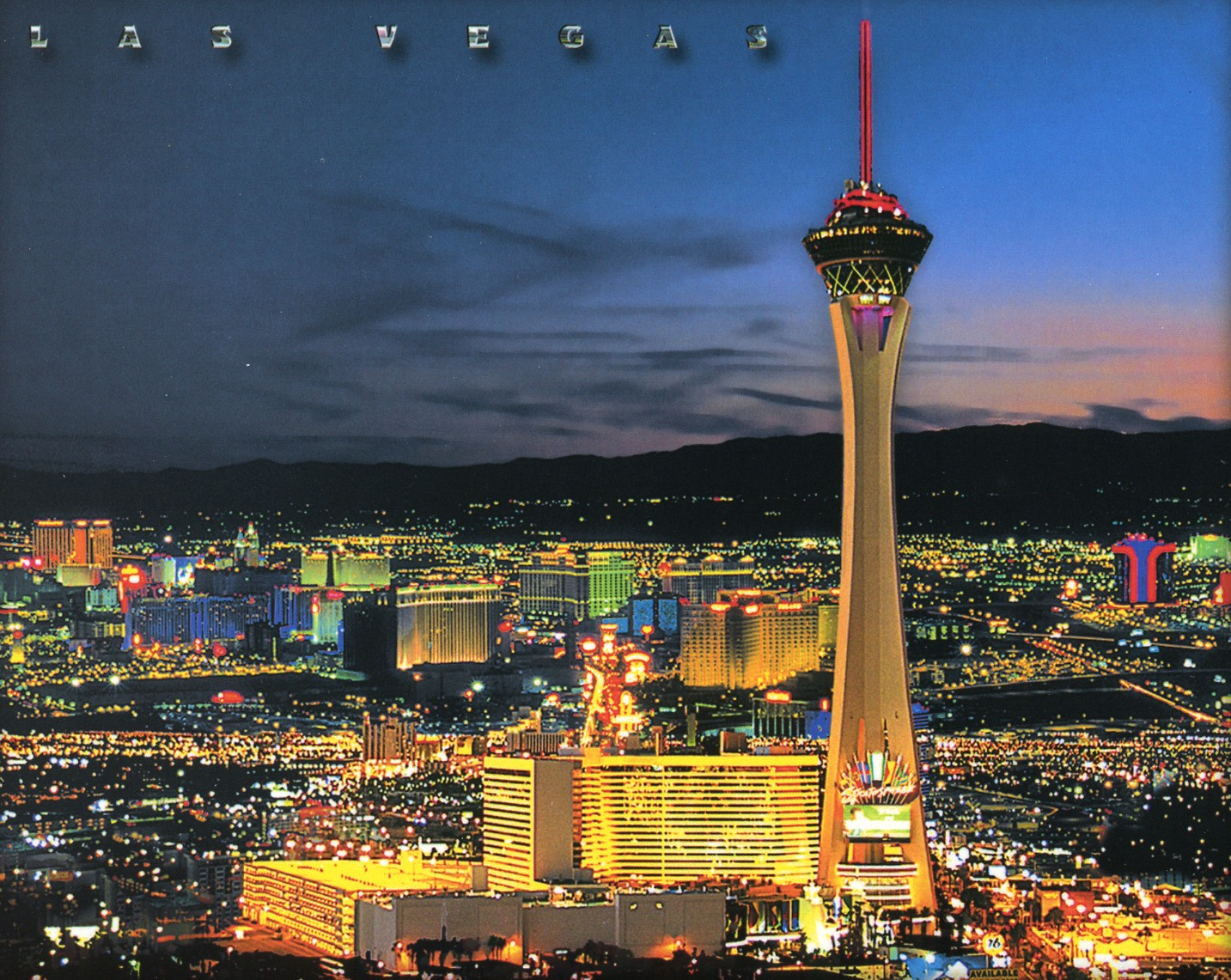 stratosphere hotel in las vegas pictures