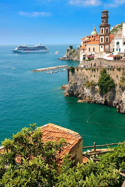 Atrani amalfi coast campania italy a1 pictures