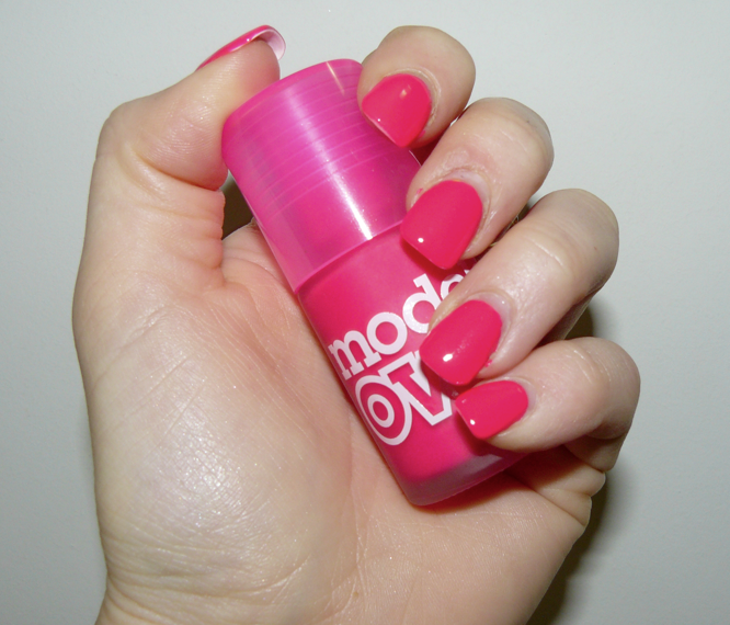 Models Own Neon Nail Polish i Think Models Own Ice Neon