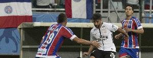 Corinthians parou na raça e marcação do Bahia