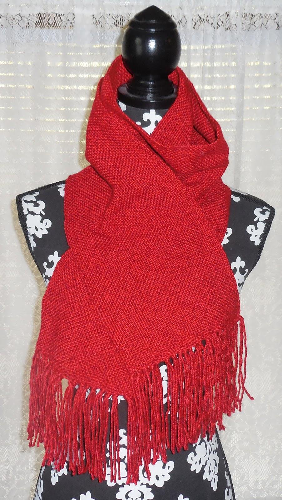 Knitting In The Heartland 2015 : Knitting ii hand woven scarf