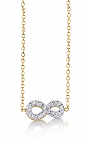Kacey K infinity necklace