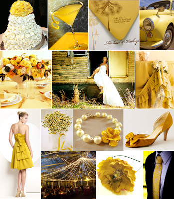 mustard yellow wedding lg