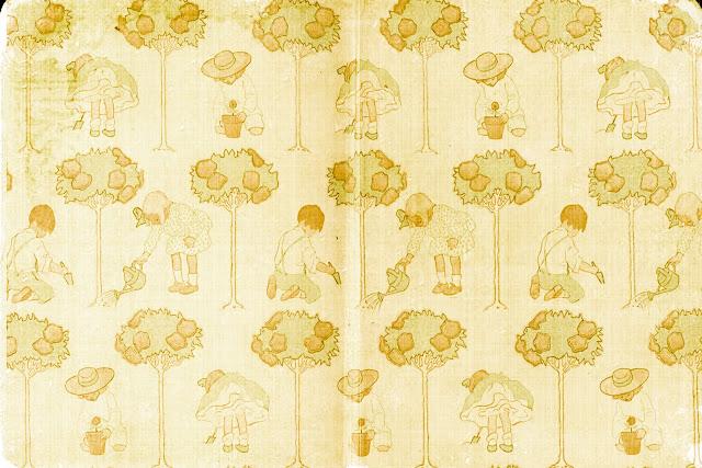Vintage Childhood Textures paper