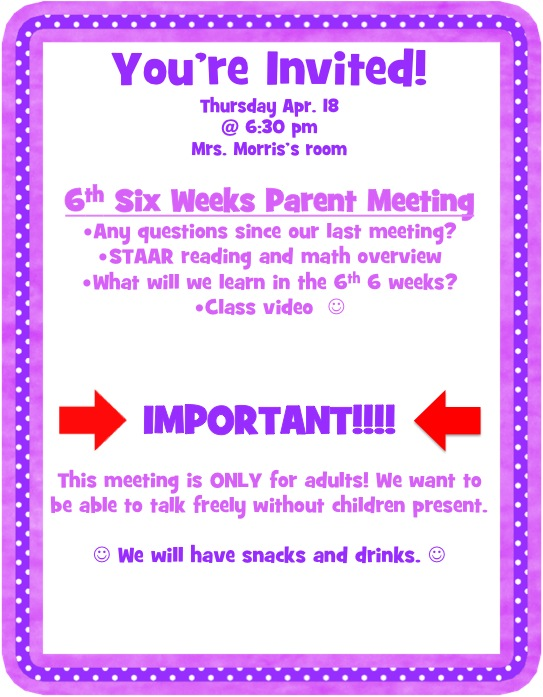 Simply 2nd resources creative tuesday 4 parent meetings simply 2nd resources stopboris Choice Image