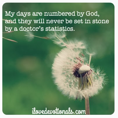 Guest post by Dabney Land - Days are numbered by God