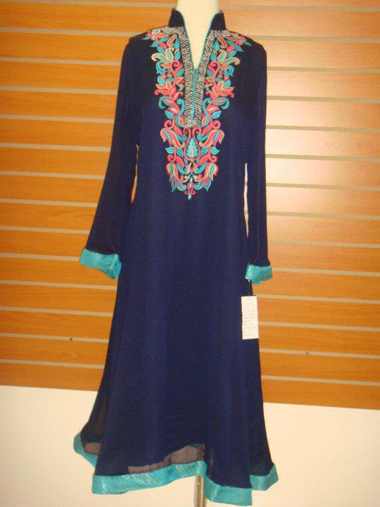 New party wear collection 2012