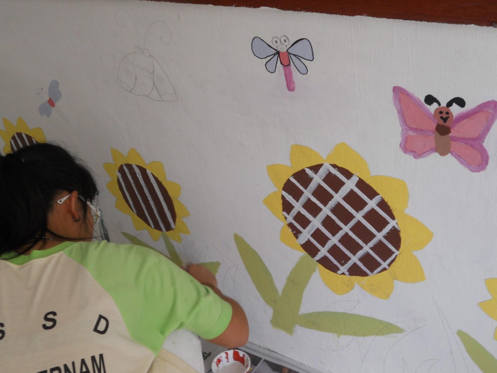 Become a better you with art mural hasil kerja tahun 6 for Mural yang cantik