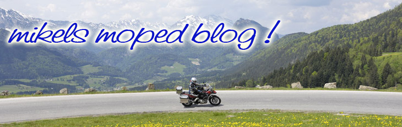 mikels moped blog !