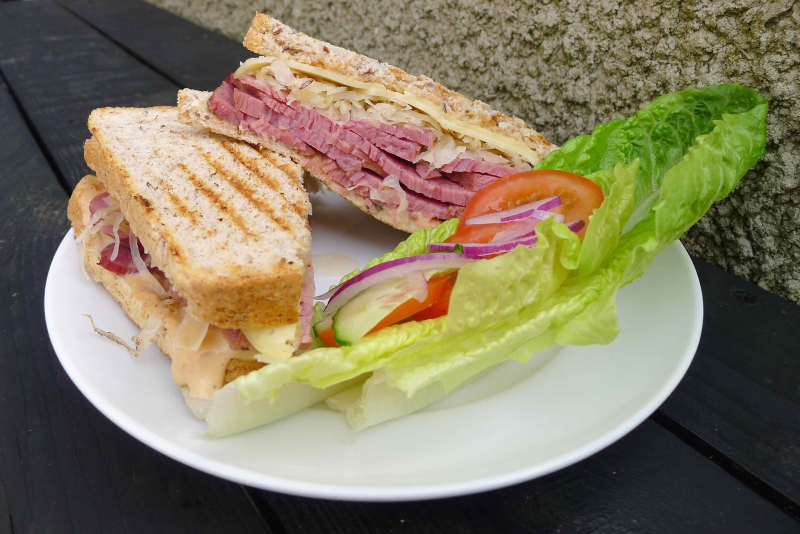 City Salt Beef S Reuben Is A Stonking Addition To Cardiff S Sandwich Line Up And Unlike Some Of Cardiff S Other Best Sandwich Gaffs They Re Thankfully