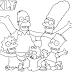 Desenhos dos Simpsons para Colorir