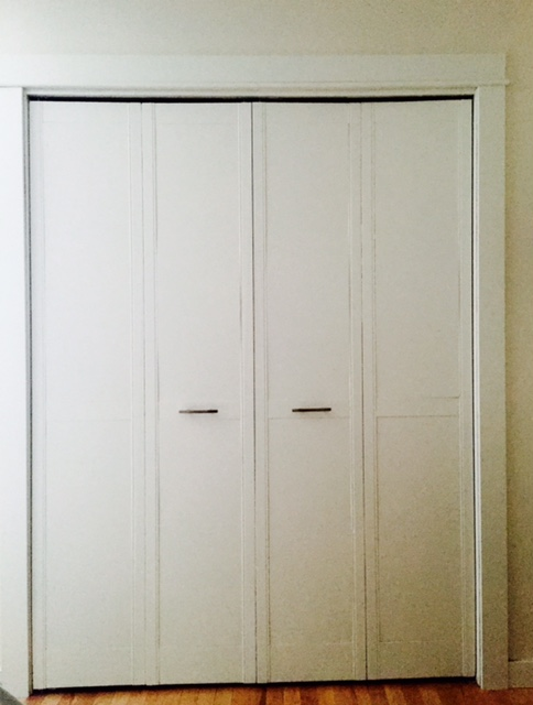 How to update louvered doors & Designing Home: What to do with louvered doors