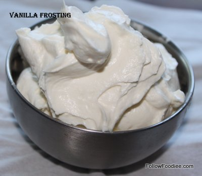 ... : Cupcakes Frosting / Vanilla Frosting Recipe / Easy Frosting Method