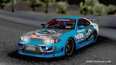 GTA SA - Nissan Silvia S15 Blue Tiger