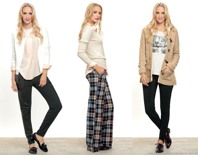 Núcleo Moda invierno 2015 ropa de mujer.