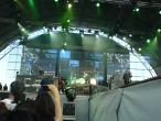 Scorpions, 9 iunie 2011, Bad Boys Running Wild, Klaus Meine, Pawel Maciwoda si James Kottak (in spate la tobe)