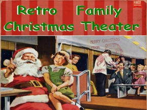 Retro Family Christmas Theater