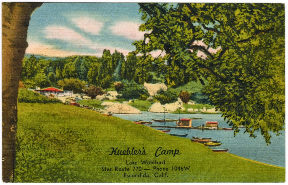 Front of postcard from George Demoskoff