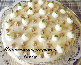 Kvs-mascarpons torta