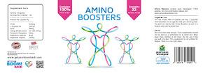 Amino Boosters cu YTE pur si 22 aminoacizi