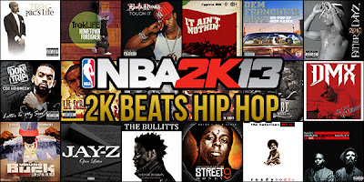 NBA 2K13 New 2K Beats Mod Hip Hop Songs