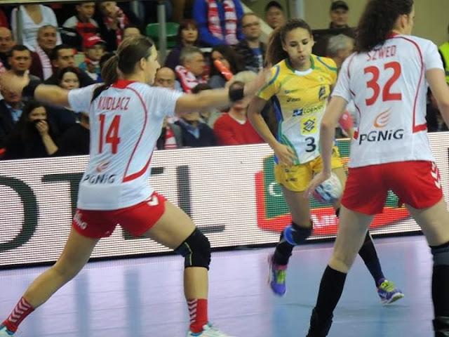 Es noticia: Luego de un año perfecto, Brasil pierde dos amistosos frente a Polonia | Mundo Handball