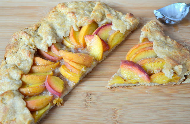 Peach Crostata recipe