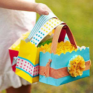 Sheek shindigs easter craft and decorating ideas - Easter basket craft ideas ...