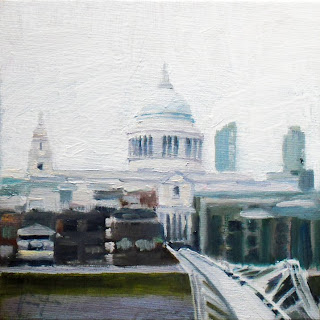 St Paul's I by Liza Hirst