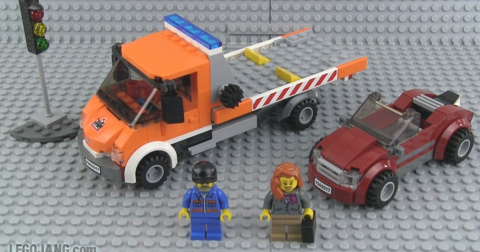 Lego City Flat Bed Truck 60017 Review