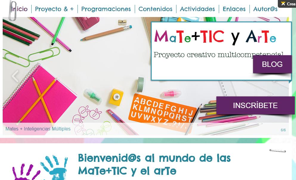 WEB Mates+TIC y ArTe