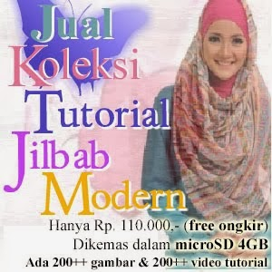 JUAL KOLEKSI TUTORIAL JILBAB