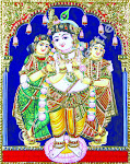 Tanjore Art from thy Heart