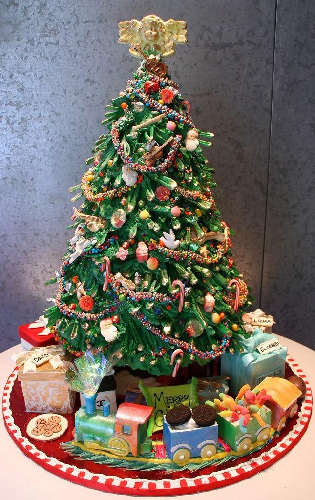 Christmas Tree Decoration For Cake : WONDERLAND: CHRISTMAS CAKE DECORATING IDEAS