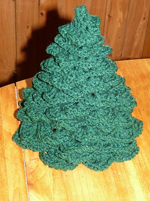 les bidouilles d 39 andr e sapin de noel crochet anglais. Black Bedroom Furniture Sets. Home Design Ideas