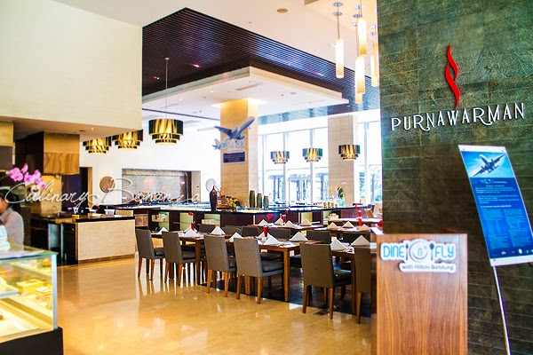 Purnawarman Buffet Restaurant at Hilton Bandung