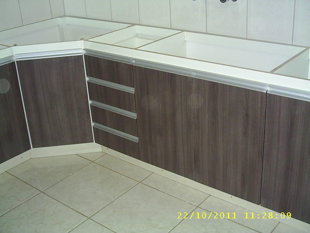 #ABB01B  PLANEJADOS) ZONA SUL EM PORTO ALEGRE: Cozinha em MDF Carvalho Francês 1024x768 px Projetos De Cozinha Mdf #365 imagens