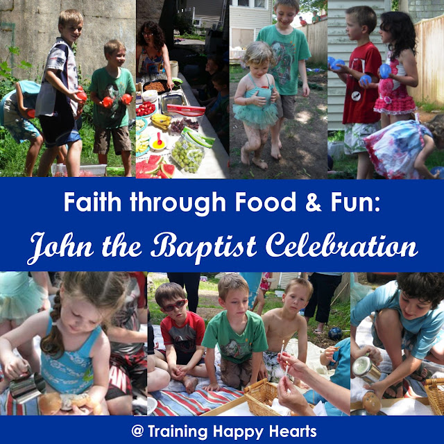 John the Baptist in Food and Water Balloon Games