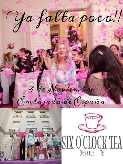 six o clock tea, desfile, embajada de españa, Carminne Dodero, Claudia Arce, Naima, Romina Brunelli,