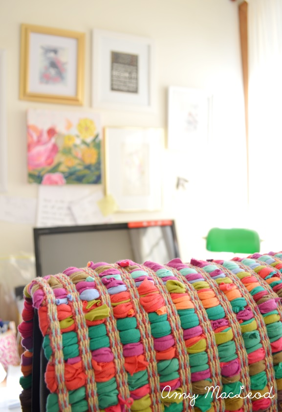 colourful rag rug (Five Kinds of Happy blog)
