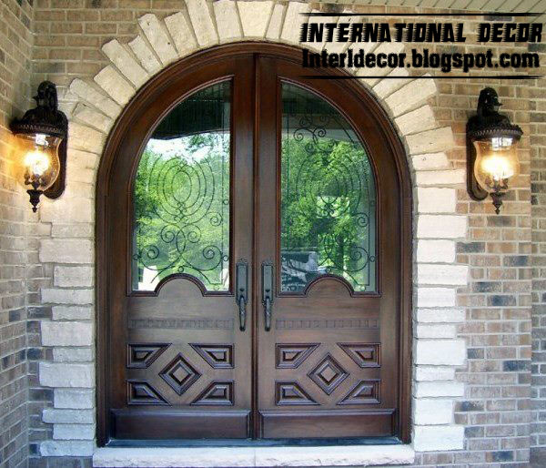 Classic Door Design exterior hand carved doors 8 panel Royal Design Of Classic Doors With Mirror