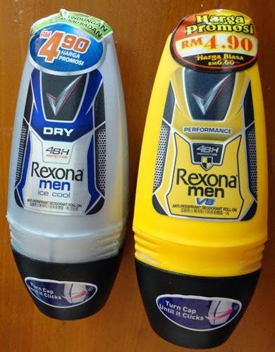 Rexona deodorant penghilang bau badan, gambar Rexona, Rexona Men, Harga promosi rexona RM4.90, Rexona Men VS Performance, Rexona Men Dry Ice Cool, Rexona deodorant penyelesai masalah bau badan, Kelebihan Rexona berbanding deodorant jenama lain