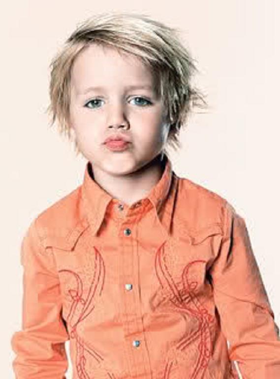 35 peinados lindos para los niños fotos - peinados cortes de pelo